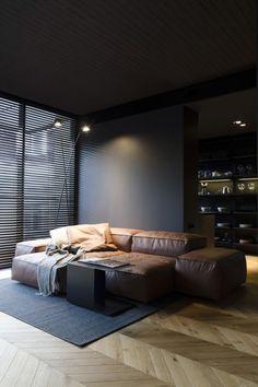 Man's space by LINE architects - MyHouseIdea