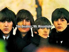 """The Beatles """"Mr. Moonlight"""" from """"For Sale"""" album in GB.  Album was Beatles '65 in USA issued by Capitol Records."""