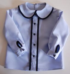 blue Sewing, Blouse, Long Sleeve, Sleeves, Women, Fashion, Moda, Dressmaking, Couture