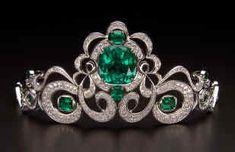 the Houston emerald tiara