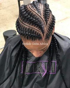 85 Box Braids Hairstyles for Black Women - Hairstyles Trends Box Braids Hairstyles, African Hairstyles, Girl Hairstyles, Hairstyles 2018, Black Girl Braids, Braids For Black Hair, Girls Braids, Curly Hair Styles, Natural Hair Styles