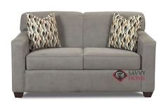 Geneva Twin Sleeper Sofa by Savvy. Exquisite style and superior comfort. Customizable.