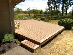 ReliaBoard looks great, lasts a long time and is the most economical composite decking product you can find.  Like most composite decking materials it's low maintenance requiring just a good washing once or twice a year. - timbertech.com/products/reliaboard