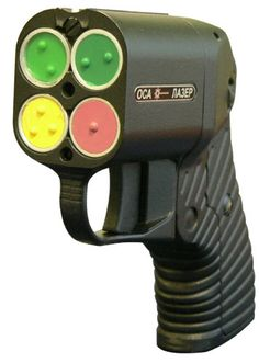 The Osa can be chambered with four types of ammunition: mini flash-bang grenades, flares (i.e. bonus fire damage), electric stun bullets (i.e. electric damage), tear gas cartridges and rubber bullets.