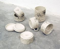 Ceramics by Ida Vikfors & Alexandra Nilasdotter via a merry mishap blog