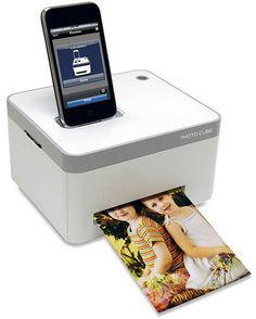 iPhone Photo Printer: Great Invention....Definately need one!!