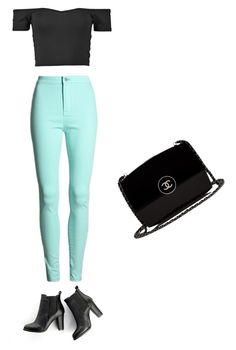 """""""Out with friends unique"""" by alyssaace on Polyvore featuring SWEET MANGO, Chanel and StreetStyle"""