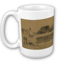 Provost, Civil War, 1863 (mug)  Provost Marshals department. Hd. qtrs. Army of the Potomac, Alfred Waud, March 1863 -- http://www.zazzle.com/exit78/mugs