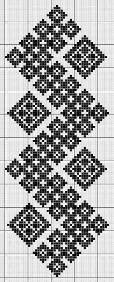kogin sashi free pattern http: Cross Stitch Bookmarks, Cross Stitch Borders, Cross Stitch Designs, Cross Stitching, Cross Stitch Embroidery, Cross Stitch Patterns, Filet Crochet, Crochet Chart, Bobble Crochet