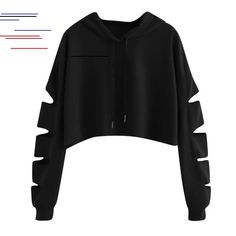 ISHOWTIENDA Fashion cropped hoodie Woman clothes Tops and Blouses Solid High Neck Drawstring Crop sweatshirts moletom feminino