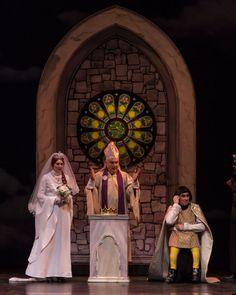 Shrek musical set rental Cathedral