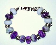 Tibetan European beads bracelet, see more designs from Pandahall.com