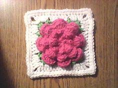 Desert_rose square... Free pattern!