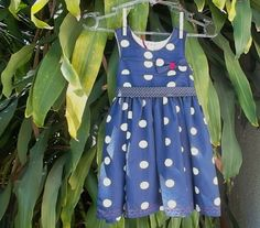 Vestido Infantil Navy! $70.00