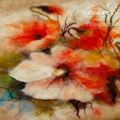 Malowanie filcem z Renate Felt - kurs