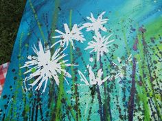 ;o)  Daisy Canvas Painting TOOT!!