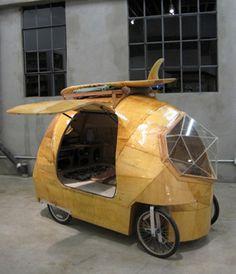 Golden Gate electric camper car
