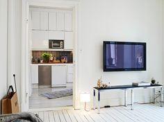 Decoración de un pequeño piso de 31m² - Estilo nórdico | Muebles diseño | Blog de decoración | Decoración de interiores - Delikatissen