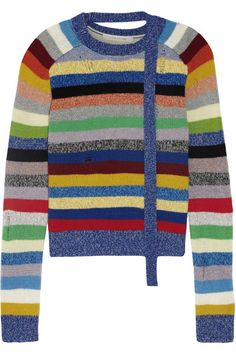 Multicolored cashmere Slips on 100% cashmere Dry clean Imported
