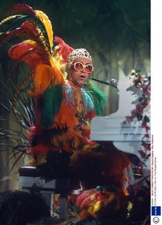 Elton John. Any man who can rock this look and own it is amazing!