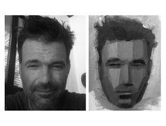 Thomas Ruckstuhl Art: Planes of the Head Study 1