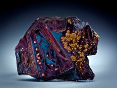 Covellite - Calabona Mine, Alghero, Sassari Province, Sardinia, Italy Size: 4.3 x 3.5 x 0.4 cm