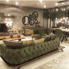 Master Bedroom Interior, Living Room Interior, Elegant Home Decor, Elegant Homes, Home Room Design, Living Room Designs, Living Room Sofa, Living Room Decor, Classy Living Room
