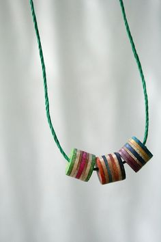 more sliced skateboards...this time..beads! and lovely ones at that. befriending some skater kids is on the agenda