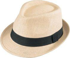 Henschel Fedora-Linen Look Hat 3096 at Viomart.com