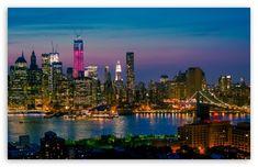 New York City Night Lights ...