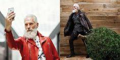 Yes, Fashion Santa Is a Thing - ELLE.com