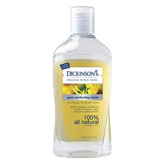 Witch hazel is a great natural toner and gets rid of those nasty dark circles under your eyes. Also, for guys with smelly beards, here's your solution!