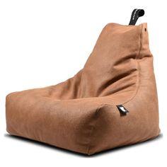B-Bag Mighty-B Indoor Zitzak - Tan Deluxe B-bag Mighty-B zitzak, in een stoer jasje! De Old Aged Leather look zorgt voor een robuuste uitstraling. Dit maakt de B-bag Indoor zitzak tijdloos en geschikt voor elk interieur. DeB-Bag Indoor zitzak wordt gefabriceerd in Yorkshire, waar ze almeer dan 10 jaar zitzakken van topkwaliteit maken. Dit is terug te zien in de kwalitatief hoogwaardige stoffen die ze gebruiken. Ook over de vulling is nagedacht, Extreme Lounging maakt gebruik van een…