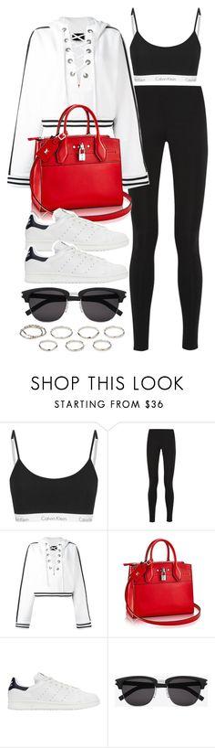 """Style #11422"" by vany-alvarado ❤ liked on Polyvore featuring Balenciaga, Puma, adidas Originals, Yves Saint Laurent and Akira"