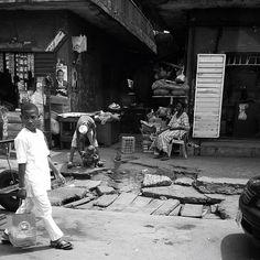 Lagos street- Nigeria