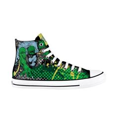 Converse All Star Hi Killer Croc Athletic Shoe - Green - Would make an awesome gift for me.  Size 11