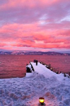 Lake Tahoe. The west shore is absolutely the best shore.