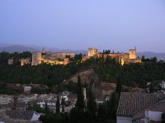THE ALHAMBRA / Love seeing pictures of the beautiful Granada on Pinterest.