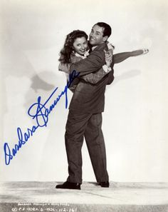 Barbara Stanwyck and Henry Fonda publicity still for You Belong to Me (1941).