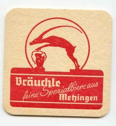 Бирофилия.Бирдекель.Родставка под пиво.Сорт Бройхле брой. Sous Bock, Beer Mats, Beer Coasters, Beer Labels, Retro, Root Beer, Coasters, Retro Illustration