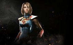 Injustice 2, Supergirl, superheroes, 2017 games