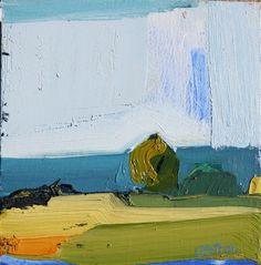 """""""Rain Today"""", 6""""x6"""", by Sandy Ostrau"""