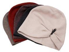 Slouchy Wool Hat Ecru Winter Beanie Fashion by MaggieMowbrayHats