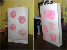 Make your own paper bag for gifts :$ http://www.wikihow.com/Make-a-Paper-Bag