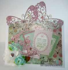 Whimsy Fairy Die for Quick Creations, September 2015, by Leah Tees, odetopaper.blogspot.ca