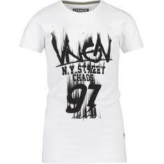 VINGINO Boy Kurzarm-Shirt IMANO Real White