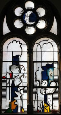 Joachim Klos, Marienfenster, 1974.  Fenster in der Kapelle,