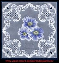 painted lace decrotive painting - Google Search