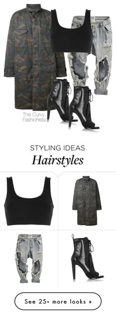 """Untitled #672"" by thecurvyfashionista on Polyvore featuring Alexander Wang"
