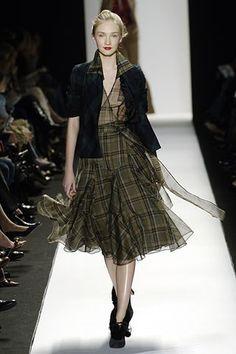 Diane von Furstenberg Fall 2006 Ready-to-Wear Fashion Show - Anna Barsukova